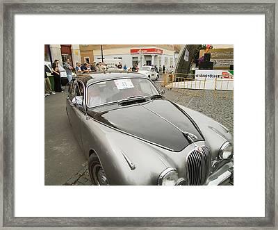 The Jaguar Framed Print by Odon Czintos