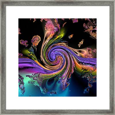 The Joining Framed Print by Claude McCoy