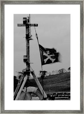 The Jolly Roger Framed Print by Christopher Kulfan