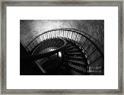 The Keeper's Flight Framed Print by Tony Cooper