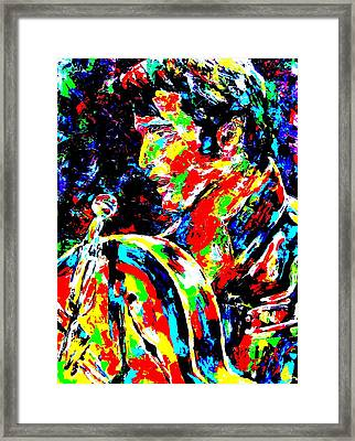 The King Framed Print by Mike OBrien