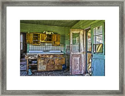 The Kitchen Sink Framed Print by Greg Molesworth