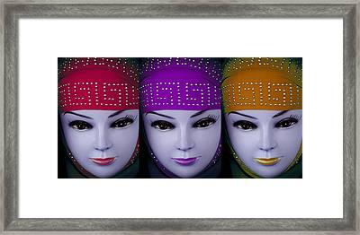 The Ladies Of Primoz Framed Print by Jez C Self