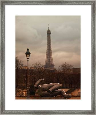 The Lady Of The Tuileries Framed Print by Stephanie Benjamin