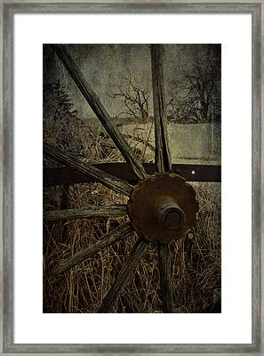 The Land That Turns  Framed Print by JC Photography and Art