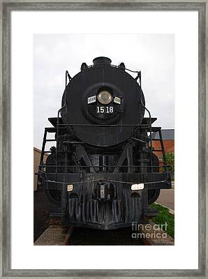 The Last Iron Horse Loc 1518 In Paducah Ky Framed Print by Susanne Van Hulst