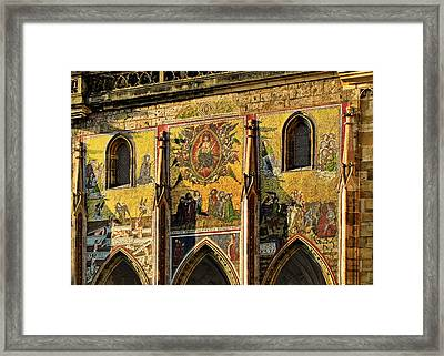 The Last Judgment - St Vitus Cathedral Prague Framed Print by Christine Till