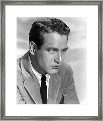 The Left Handed Gun, Paul Newman, 1957 Framed Print by Everett