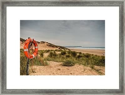The Lifebelt Framed Print by Steve Purnell