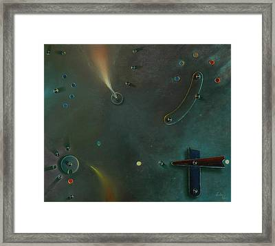 The Light Making Machine Framed Print by Otto Farkas