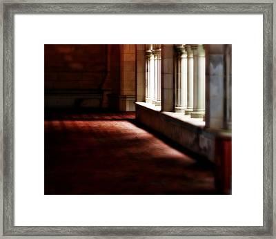 The Light Framed Print by Marysue Ryan