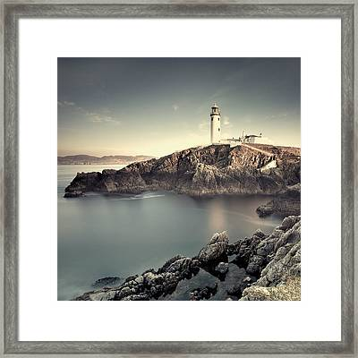 The Lighthouse Framed Print by Pawel Klarecki