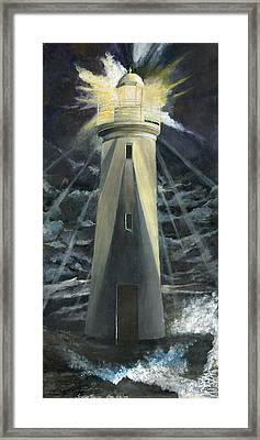 The Lighthouse Framed Print by Trister Hosang