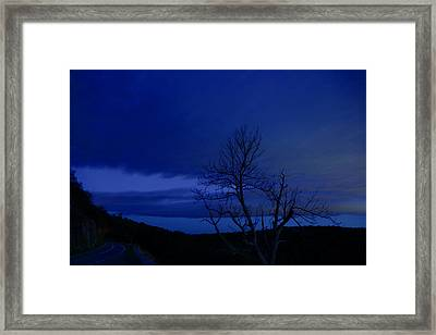 The Lonely Road Framed Print by Metro DC Photography