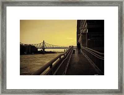 The Long Walk Framed Print by Madeline Ellis