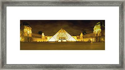 The Louvre Framed Print by Photography Art