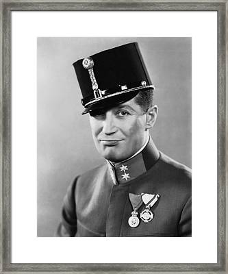The Love Parade, Maurice Chevalier, 1929 Framed Print by Everett