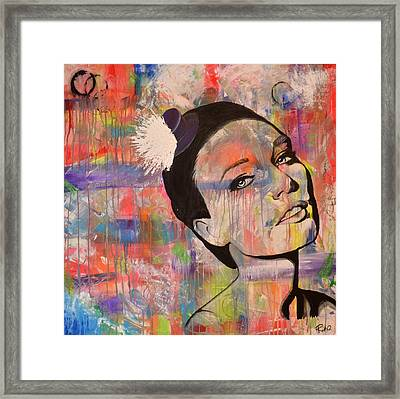 The Mad Hatter Framed Print by Ruth Oosterman
