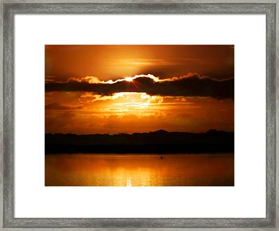 The Magic Of Morning Framed Print by Karen Wiles