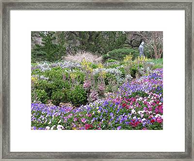 The Majestic Color Of Purple Framed Print by Shawn Hughes