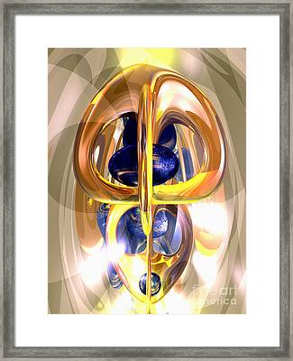 The Majestic One Abstract Framed Print by Alexander Butler