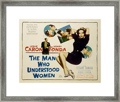 The Man Who Understood Women, Henry Framed Print by Everett