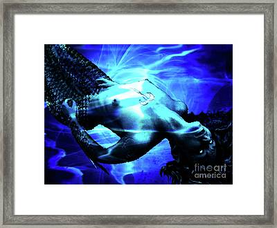 The Mermaid Framed Print by The DigArtisT