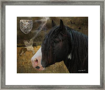 The Messenger Framed Print by Terry Kirkland Cook