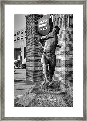 The Mick Framed Print by Ricky Barnard