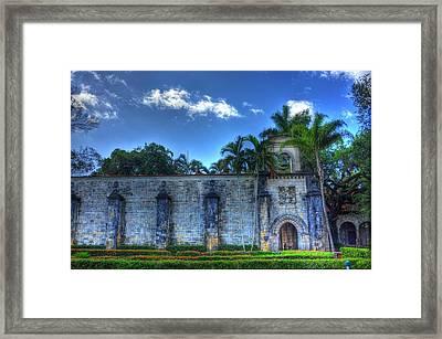 The Monastery Framed Print by Armando Perez