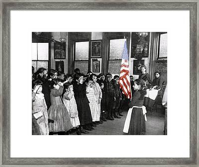 The Morning Parade 1898 Framed Print by Stefan Kuhn