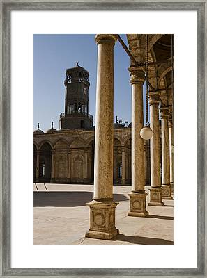 The Mosque Of Mohammed Ali In Saladins Framed Print by Taylor S. Kennedy