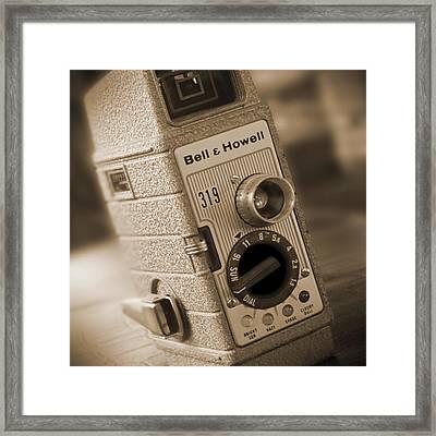 The Movie Camera Framed Print by Mike McGlothlen