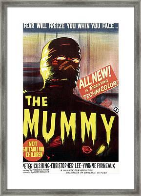 The Mummy, Austrailian One Sheet Framed Print by Everett