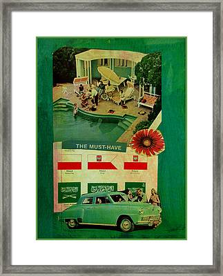 The Must Have Framed Print by Adam Kissel