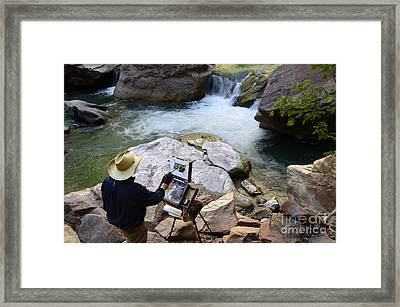 The Narrows Quality Time Framed Print by Bob Christopher