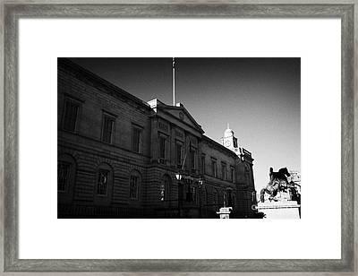 The National Archives Of Scotland General Register House Edinburgh Scotland Uk United Kingdom Framed Print by Joe Fox