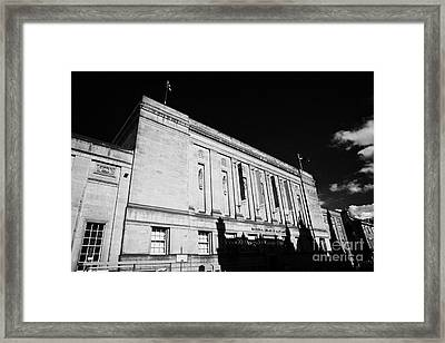 The National Library Of Scotland Edinburgh Scotland Uk United Kingdom Framed Print by Joe Fox