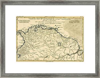 The New Kingdoms Of Grenada Framed Print by Guillaume Raynal