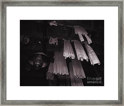 The Newest Fashion In Calico Ghost Town  Framed Print by Susanne Van Hulst