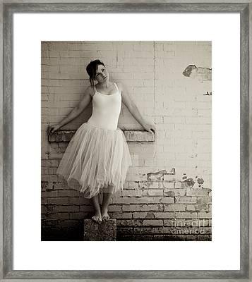 The Next Dance Framed Print by Sherry Davis