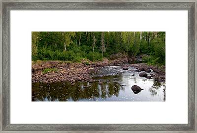 The North Woods Framed Print by Steve Stuller
