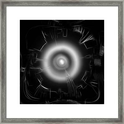 The Observer Framed Print by Steve K