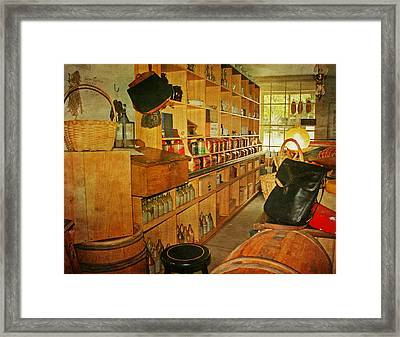 The Old Country Store Framed Print by Kim Hojnacki