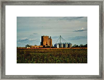 The Old Grain Mill Framed Print by Kelly Reber