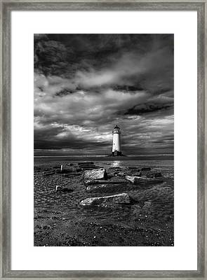 The Old Lighthouse  Framed Print by Adrian Evans
