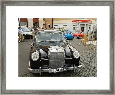 The Old Mercedes Framed Print by Odon Czintos
