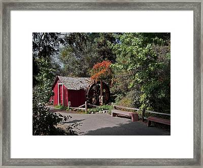 The Old Mill 1 Framed Print by Ernie Echols