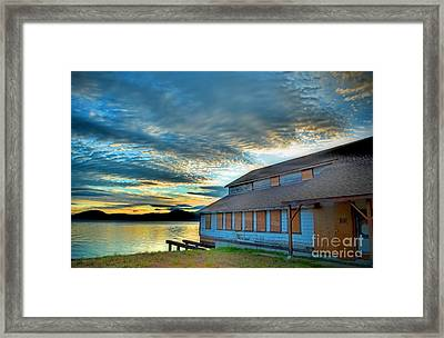 The Old Packing House Framed Print by Tara Turner