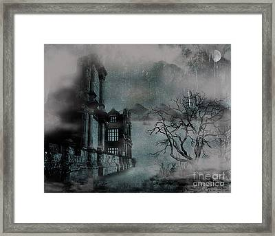 The Old Ruins Framed Print by Cheryl Young
